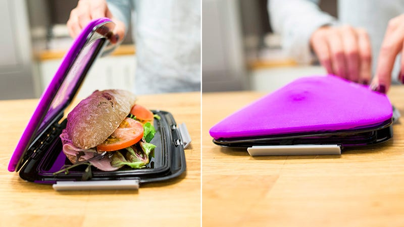 This Flat Flexible Lunch Bag Can Hold Your Heftiest Hoagie