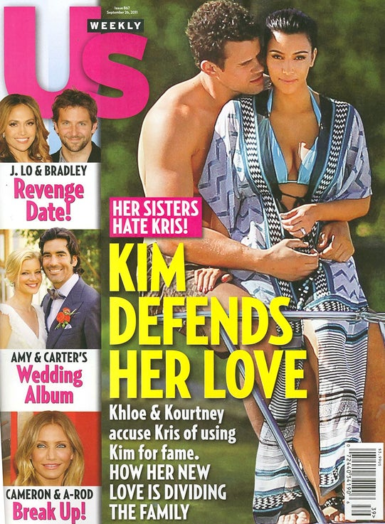 This Week In Tabloids: Kim Kardashian's Marriage Is Her First Step Toward Divorce