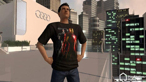 Don The Iron Man 2 Armor In PlayStation Home