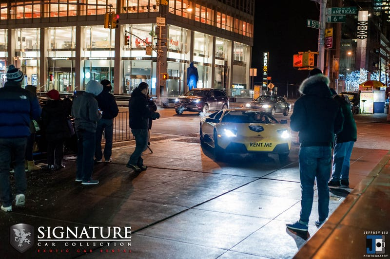 The Lamborghini Murcielago LP640 And The Best Halal Cart In NYC