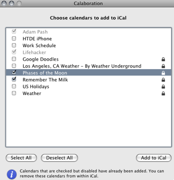 Calaboration Syncs iCal and Google Calendar with Ease