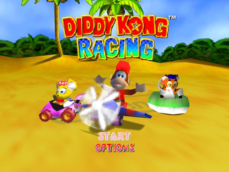 Diddy Kong Racing 2 Rumors Arise*