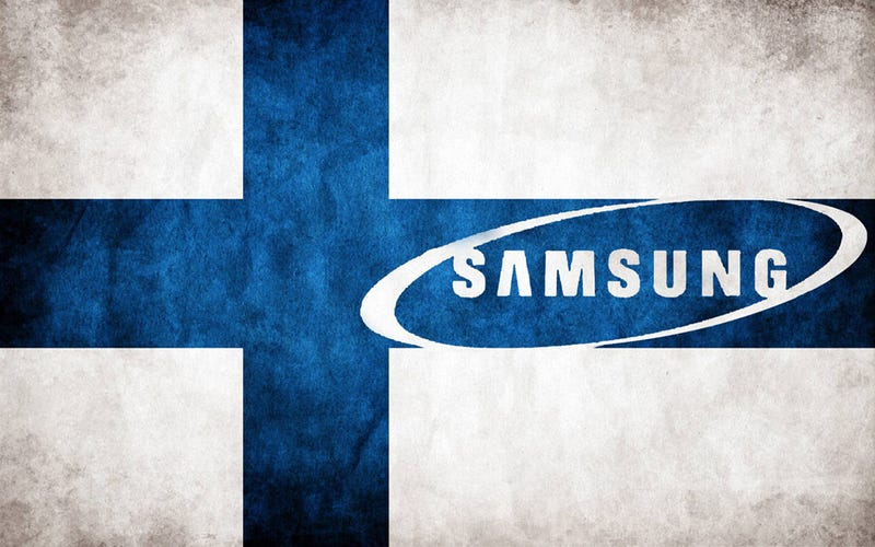 Samsung conquista Finlandia