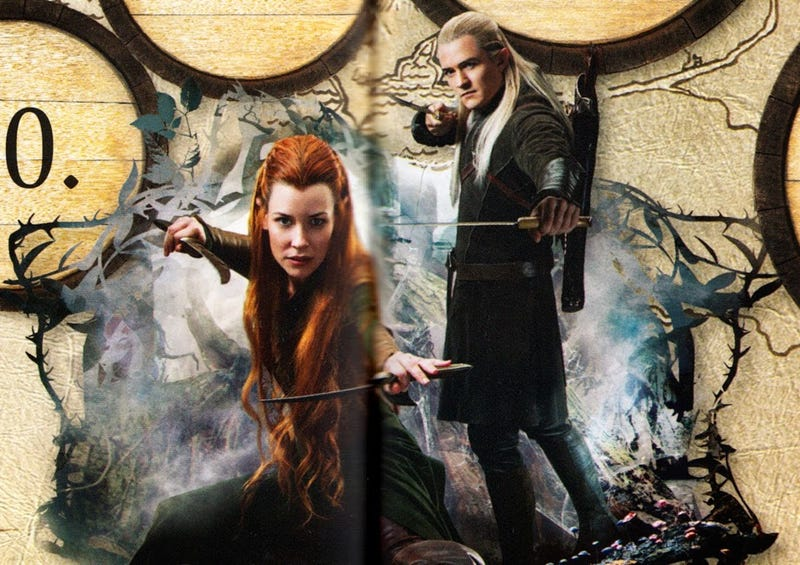 Seriously Cute Hobbit: Desolation of Smaug Poster Art