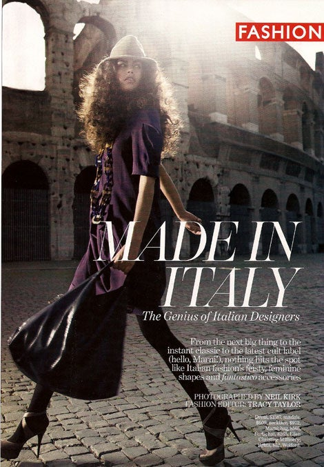 'Marie Claire' Editors Went To Italy And All They Got Was This Awesome Photo Shoot
