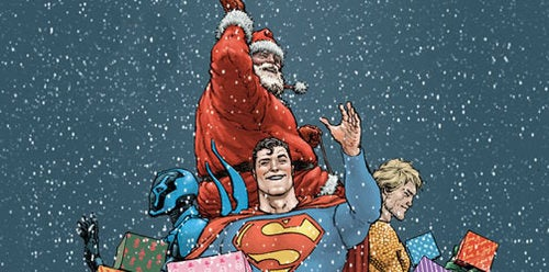 Which Superhero Should Be The New Santa?