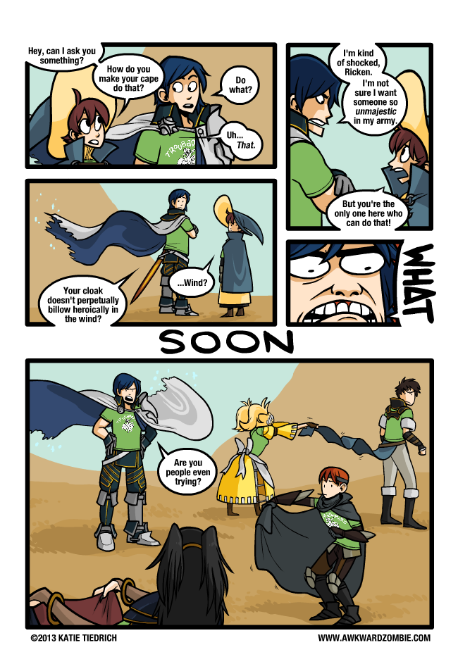 Sunday Comics: Path of Least Resistance