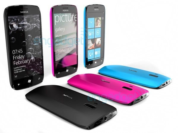 Here's What Nokia's Windows Phone 7 Handset Might Look Like