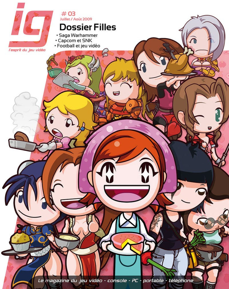 Cooking Mama, Cooking Zelda, Cooking Samus...
