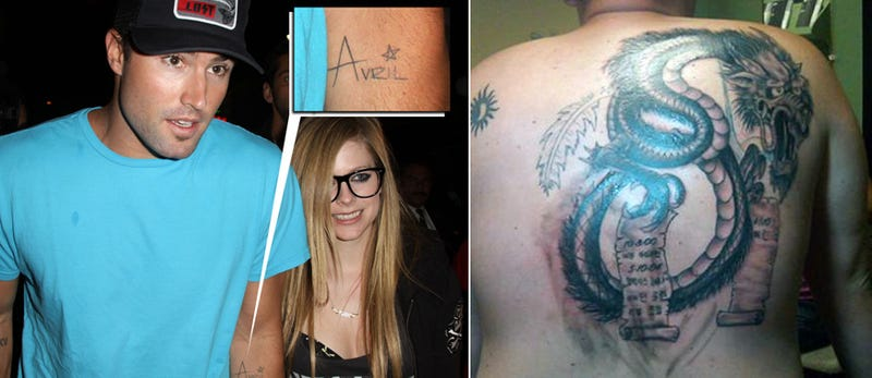 Regrettable Celebrity Tattoo News of the Day