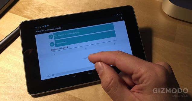 Con el nuevo teclado manual de Android podrás dibujar hasta emojis
