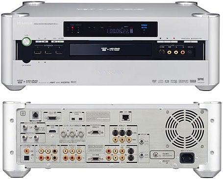 Toshiba to Ship RD-A1 HD DVD Recorder