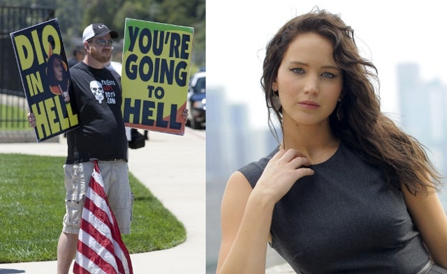 The One Person the Westboro Baptist Church Doesn't Hate? Jennifer Lawrence