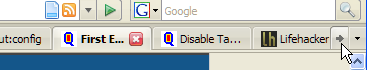 Firefox 2 Tip: Disable (or modify) tab scrolling
