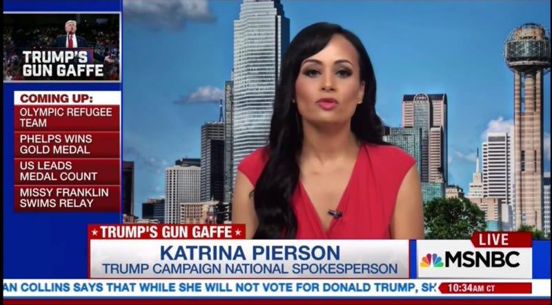 Trump Spokeswoman Can't Believe How You're All Misinterpreting 'Second Amendment People'