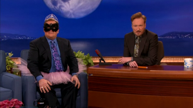 Conan O'Brien and Andy Richter Act Out Black Swan