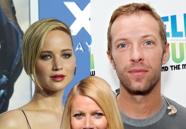 "Gwyneth Paltrow: Chris Martin ""Could Do Worse"" Than Jennifer Lawrence"