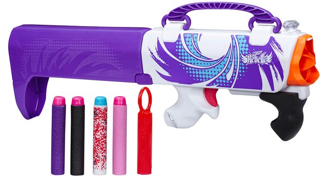 Nerf Hid a Surprisingly Capable Dart Gun In a Fashion Accessory