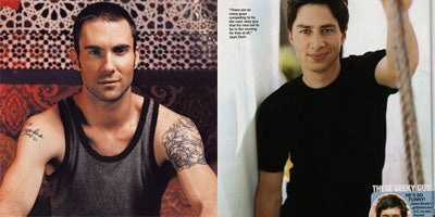 Oh, To Be Simultaneously Fancied By Zach Braff And Adam Levine!