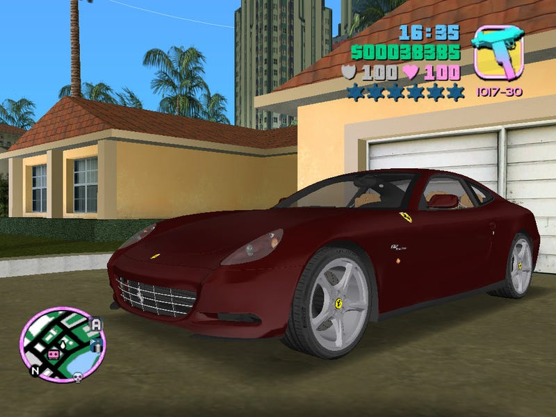 The Cars of Vice City