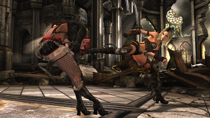I'd Forgotten This All-Girl Fighting Game Was A Thing