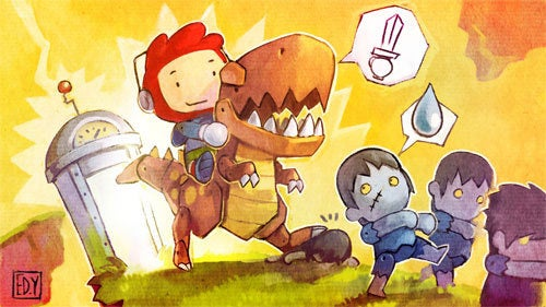 "Scribblenauts Dev Moves On To Consoles, ""Pretty Big"" XBLA Game"