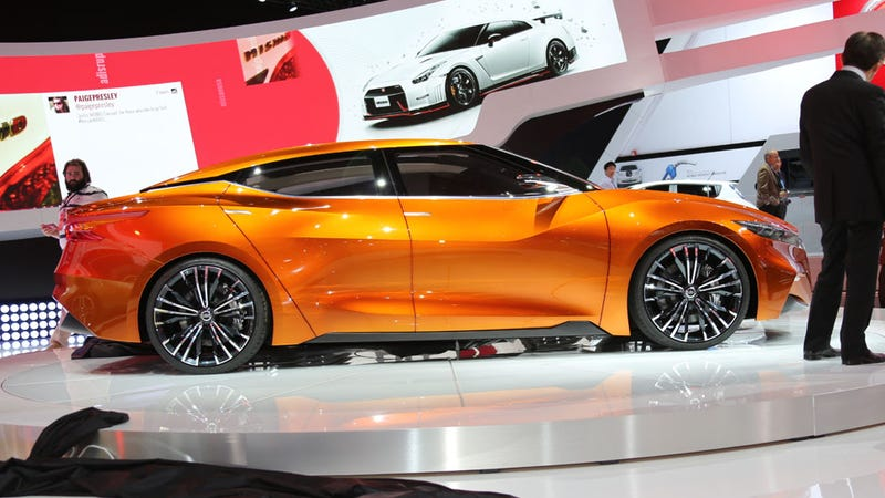 The Nissan Sports Sedan Concept Is The Maxima's Return To 4DSC