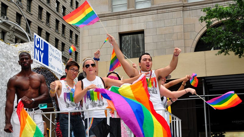 Homophobe Won't March In Gay Pride Parade Because He's Welcome To