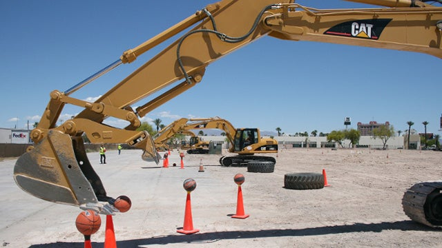Vegas playground turns heavy machinery into adult toys