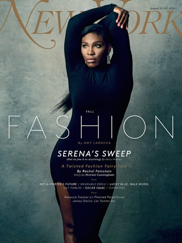 Serena Williams Is Queen of Tennis, Everything on New York Cover