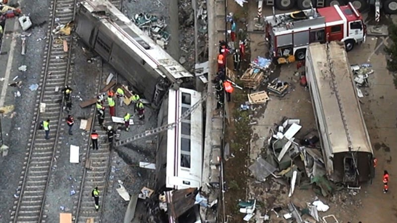 Driver In Fatal Spanish Train Crash Was On Phone, Investigators Say