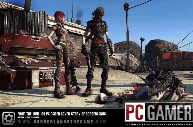 Borderlands Concept Art Style Rather Fetching