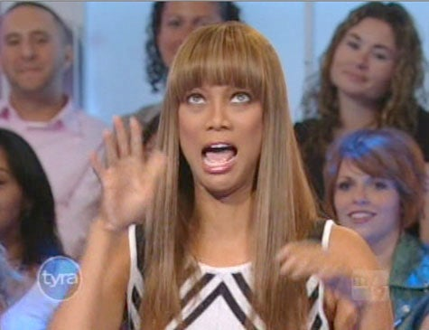 Tyra Banks Holds In Her Farts Around Her Boyfriends