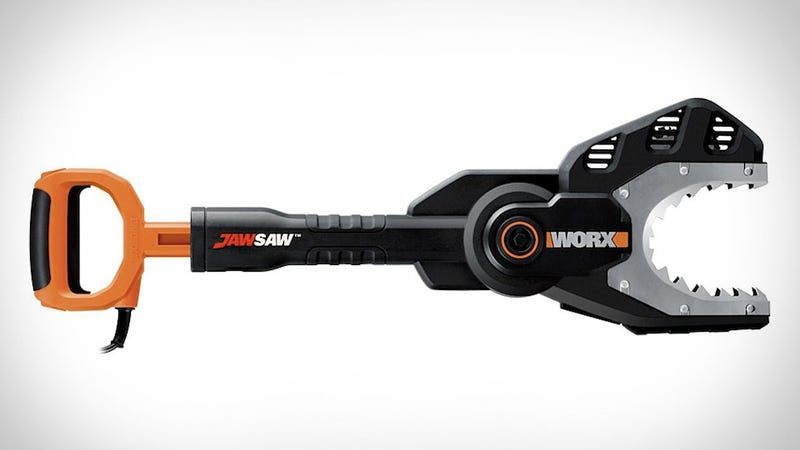 The JawSaw Is Equally Equipped for Tree Grooming and Zombie Defense