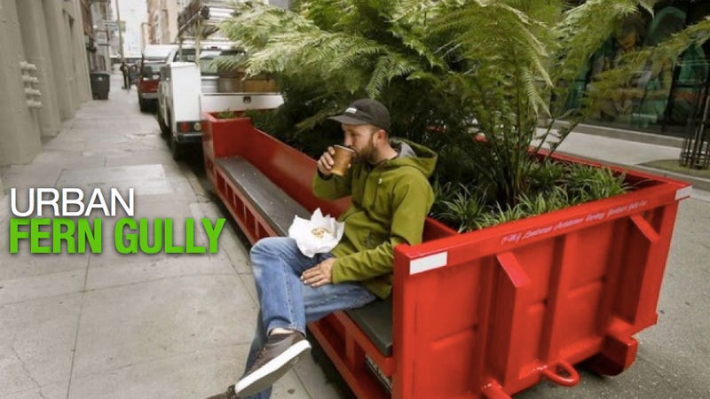 One Man's Dumpster Is Another Man's Tiny Mobile Park