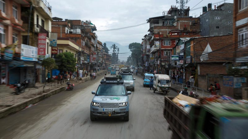 Range Rover Hybrid Driven To India, Proves It's The Best Hybrid By Far