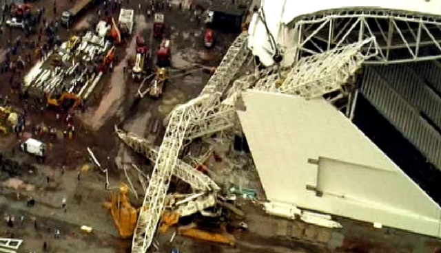 Report: Operator Of Crane That Killed 3 In Brazil Worked 18 Straight Days