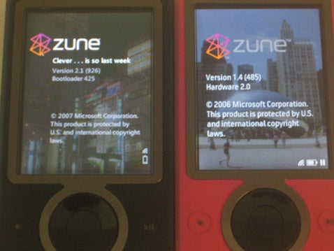 Zune 1 Getting New Firmware, Features