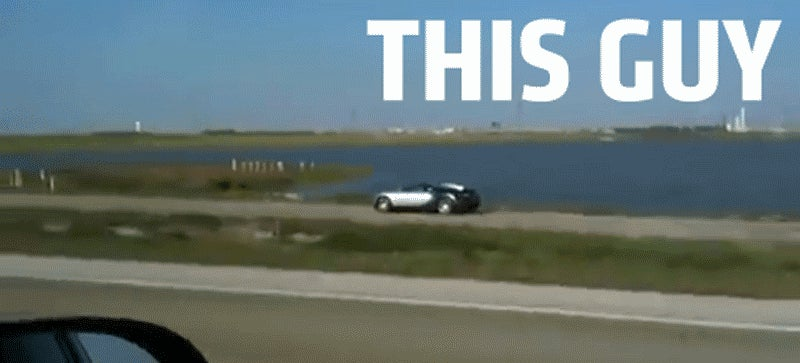 Shithead Who Crashed Bugatti Into Lake In Trouble With The Law Again