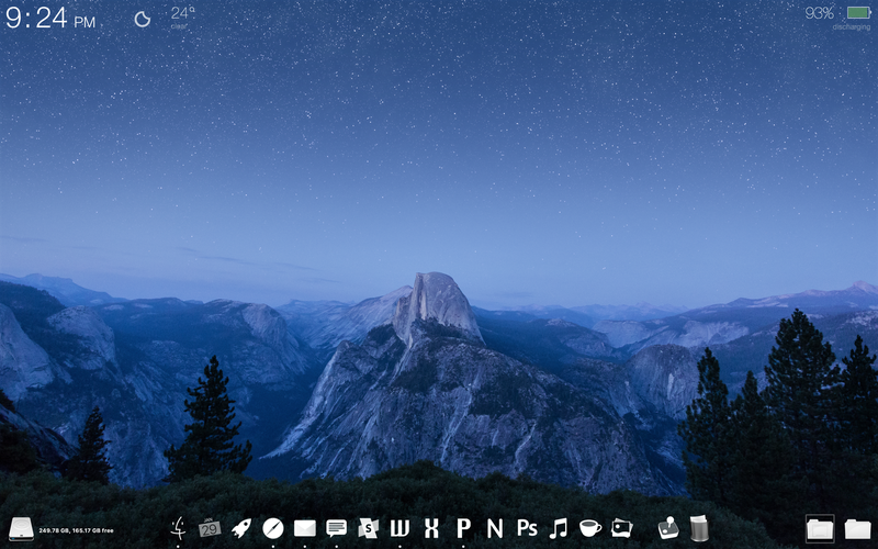 The Glacier Point Desktop