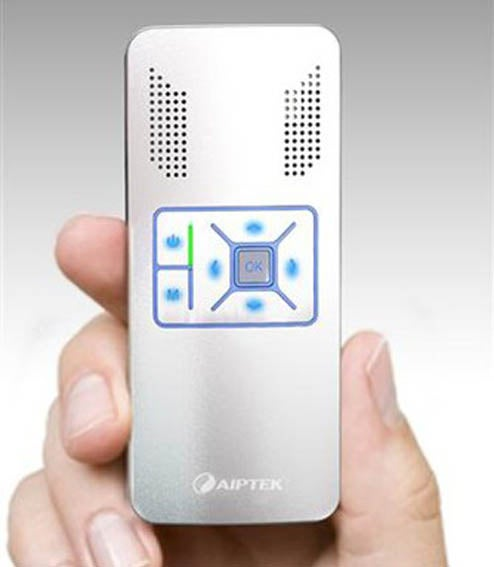 Aiptek Pocket Projector Can Probably Shine Larger Than Your TV