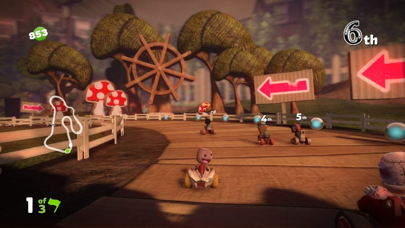 Check Your Inbox for an Invitation to LittleBigPlanet Karting's Beta
