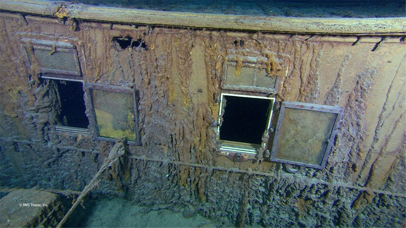 Never-Before-Seen 3D Photos of the Titanic Surface After Expedition