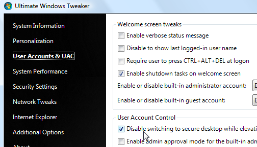 Ultimate Windows Tweaker Updates, Adds 20 New Tweaks