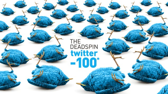 The Deadspin Twitter -100*: The 73 Worst Accounts In Sports
