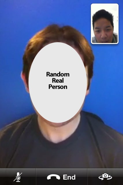 Call Apple To Test Out FaceTime With A Real Person