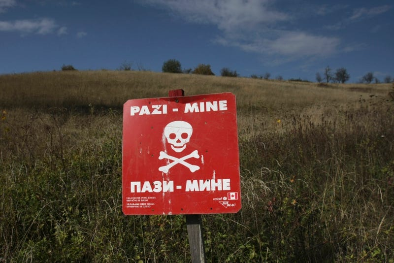 Balkans' Worst Flooding in Years Is Unearthing Thousands of Landmines