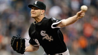 Chris Sale Fractures Foot Stepping Off Of His Truck