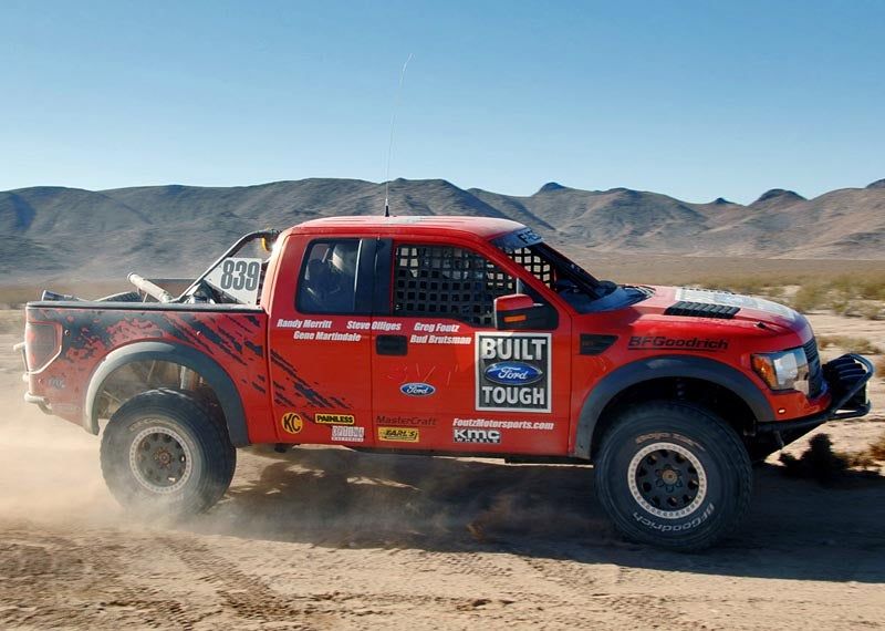 FR Raptor XT: Ford Racing's New $100K Limited-Edition Baja Pre-Runner