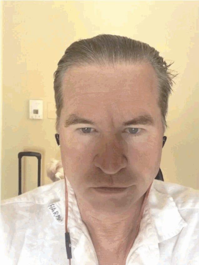 Watch Val Kilmer morph into Mark Twain -- YIKES
